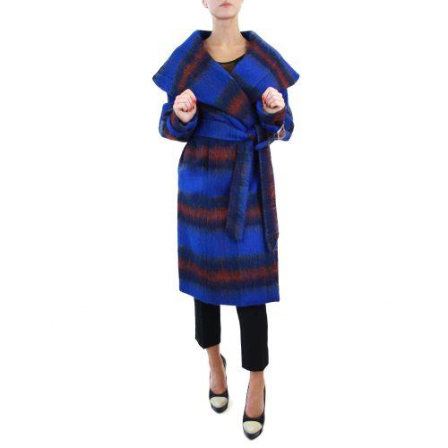 Abbigliamento STELLA JEAN - Cappotto a vestaglia blu | OneMore (1)