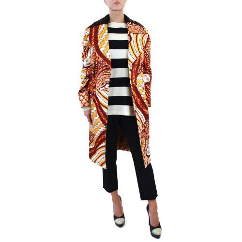 Abbigliamento STELLA JEAN - cappotto lungo a fantasia | OneMore (1)