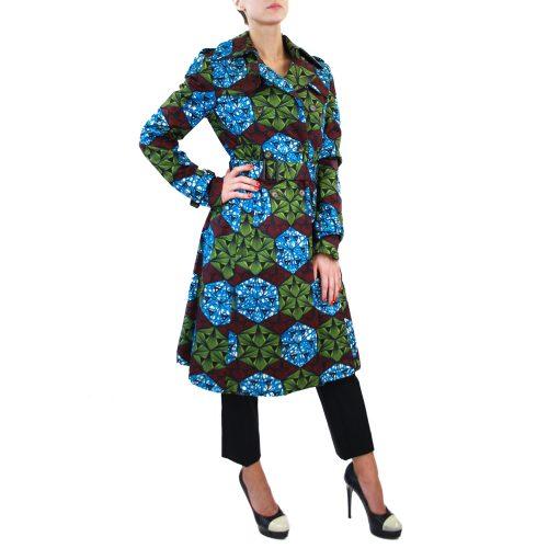 Abbigliamento STELLA JEAN - cappotto lungo azzurro | OneMore (2)