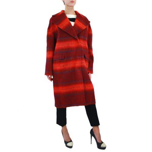 Abbigliamento STELLA JEAN - cappotto lungo rosso | OneMore (2)