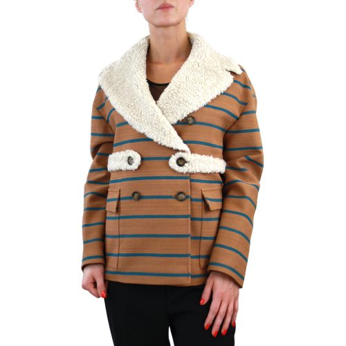 Abbigliamento STELLA JEAN - giacca dettaglio pelo | OneMore (1)