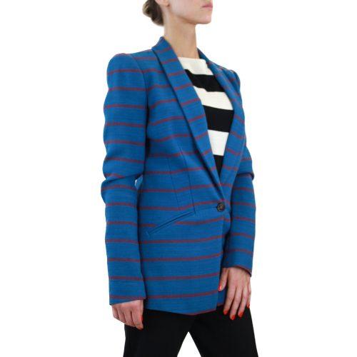 Abbigliamento STELLA JEAN - giacca lunga azzurra | OneMore (2)