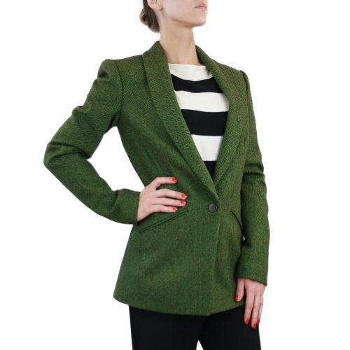 Abbigliamento STELLA JEAN - giacca lunga verde | OneMore (2)