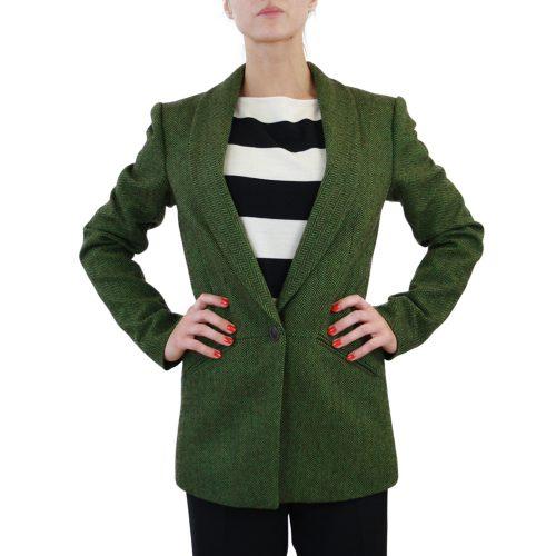 Abbigliamento STELLA JEAN - giacca lunga verde scuro | OneMore