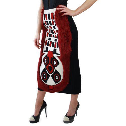 Abbigliamento STELLA JEAN - gonna con ricamo tribale   OneMore (2)