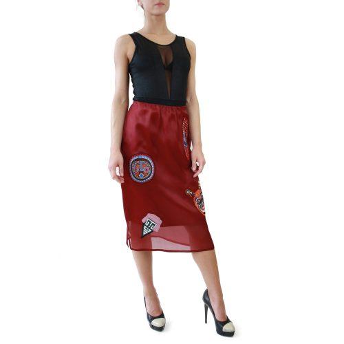 Abbigliamento STELLA JEAN - gonna con ricamo tribale   OneMore (4)