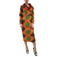 Abbigliamento STELLA JEAN - abito lungo | OneMore arancione (1)