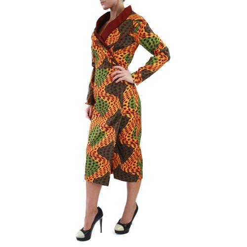 Abbigliamento STELLA JEAN - abito lungo | OneMore arancione (2)