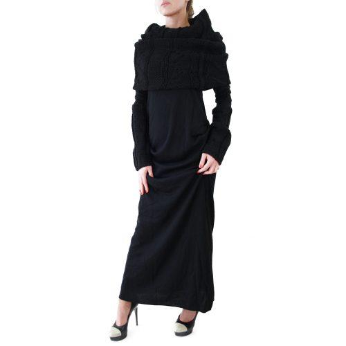 Abbigliamento STELLA JEAN - abito lungo alla caviglia   OneMore baina (2)