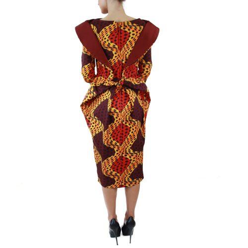Abbigliamento STELLA JEAN - abito tubo | OneMore arancione (3)
