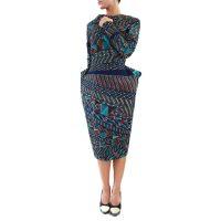Abbigliamento STELLA JEAN - abito tubo   OneMore azzurro (1)