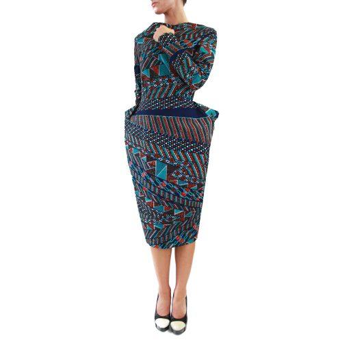 Abbigliamento STELLA JEAN - abito tubo | OneMore azzurro (1)