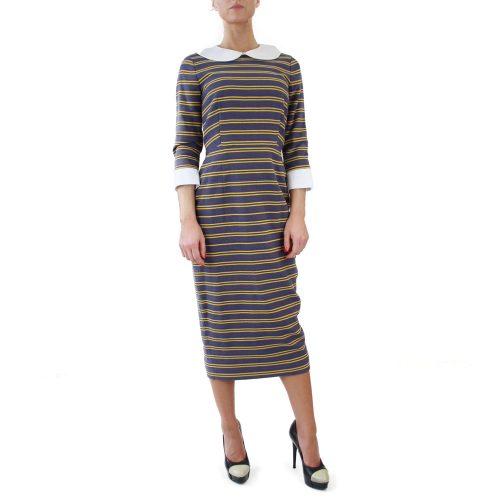 Abbigliamento STELLA JEAN - abito tubo | OneMore con colletto (2)