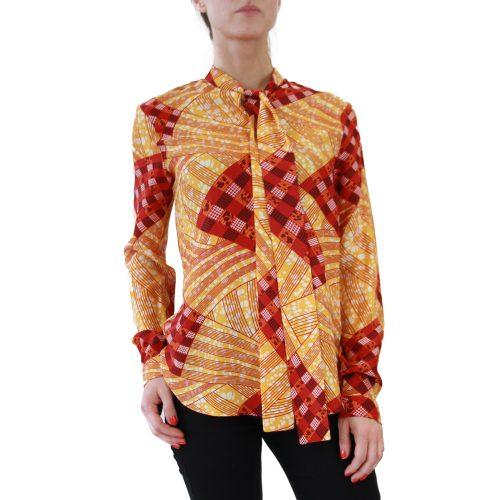 Abbigliamento STELLA JEAN - camicia con fiocco | OneMore costanza arancione (1)