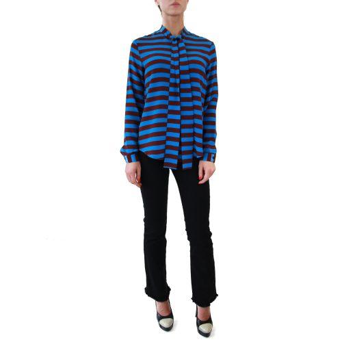 Abbigliamento STELLA JEAN - camicia con fiocco | OneMore daria azzurro (1)
