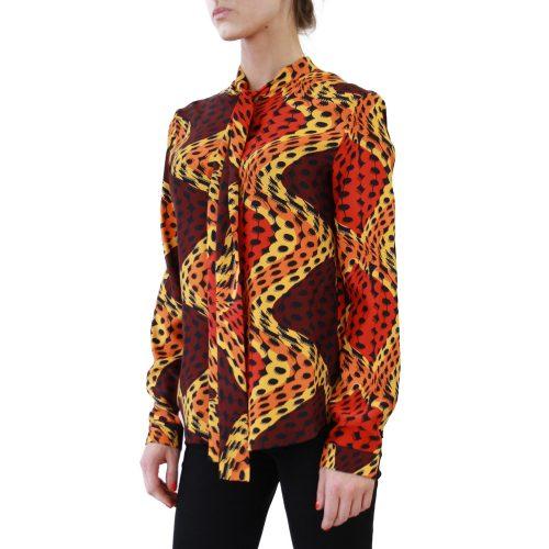 Abbigliamento STELLA JEAN - camicia con fiocco | OneMore iolanda rosso (2)