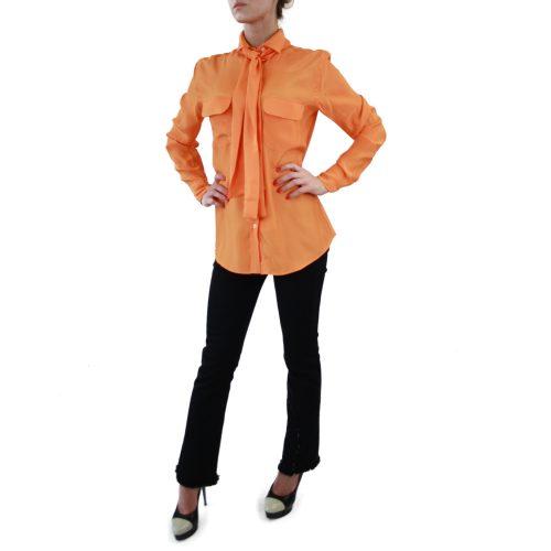 Abbigliamento STELLA JEAN - camicia con fiocco | OneMore morena (2)