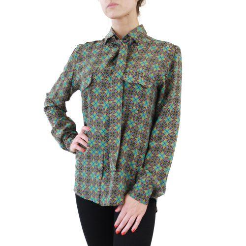 Abbigliamento STELLA JEAN - camicia con fiocco | OneMore rossalla verde (2)