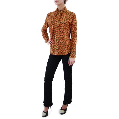 Abbigliamento STELLA JEAN - camicia con fiocco | OneMore rossella arancione (2)
