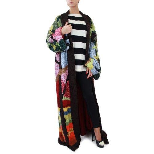 Abbigliamento STELLA JEAN - cappotto lungo | OneMore verde (1)