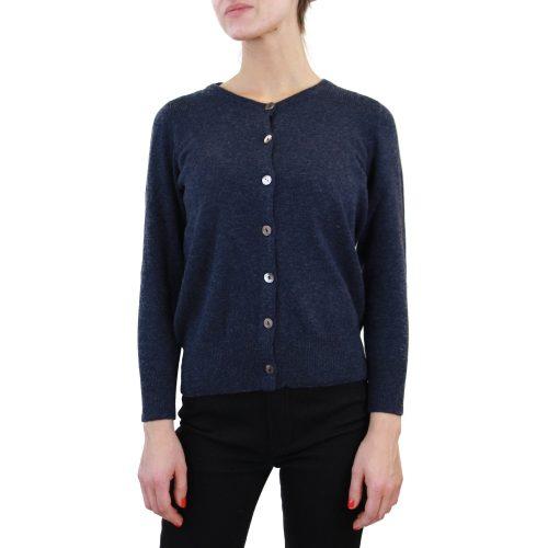 Abbigliamento STELLA JEAN - cardigan girocollo | OneMore blu