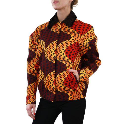 Abbigliamento STELLA JEAN - giubbotto dettaglio pelle | OneMore cassandra (2)