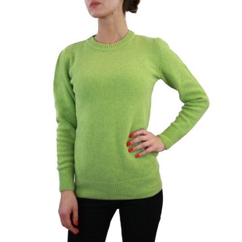 Abbigliamento STELLA JEAN - maglia girocollo| OneMore verde