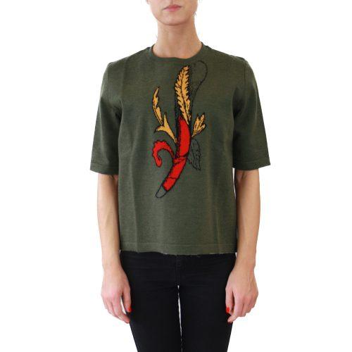Abbigliamento STELLA JEAN - maglia mezza manica | OneMore bastone verde