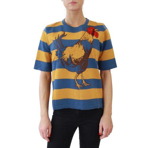 Abbigliamento STELLA JEAN - maglia mezza manica | OneMore galletto giallo