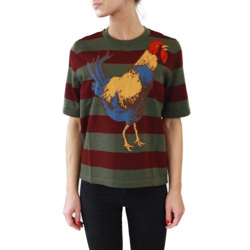Abbigliamento STELLA JEAN - maglia mezza manica | OneMore galletto verde