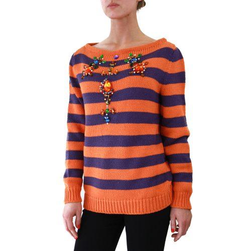 Abbigliamento STELLA JEAN - maglione collo a barchetta | OneMore ona (2)