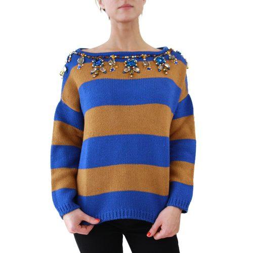 Abbigliamento STELLA JEAN - maglione collo a barchetta | OneMore uboro (1)
