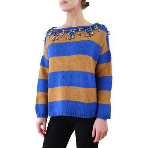 Abbigliamento STELLA JEAN - maglione collo a barchetta | OneMore uboro (2)