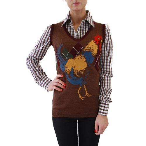 Abbigliamento STELLA JEAN - pullover | OneMore galletto marrone