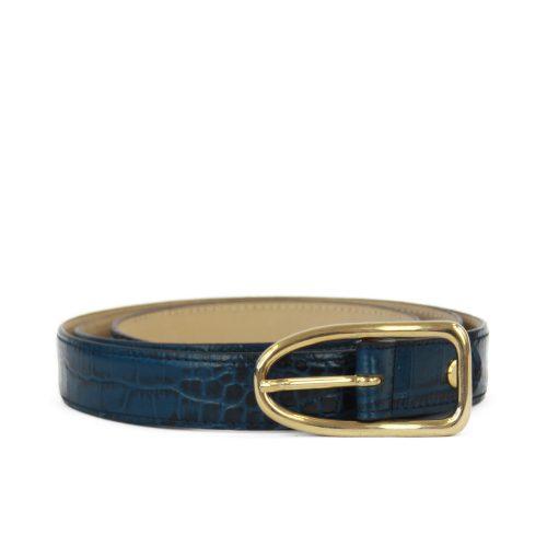 Accessori STELLA JEAN - cintura stampa coccodrillo | OneMore blu