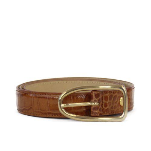 Accessori STELLA JEAN - cintura stampa coccodrillo | OneMore marrone