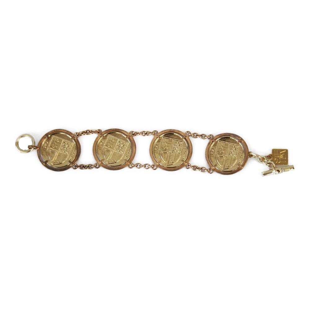 Accessori STELLA JEAN - bracciale oro con monete - OneMore