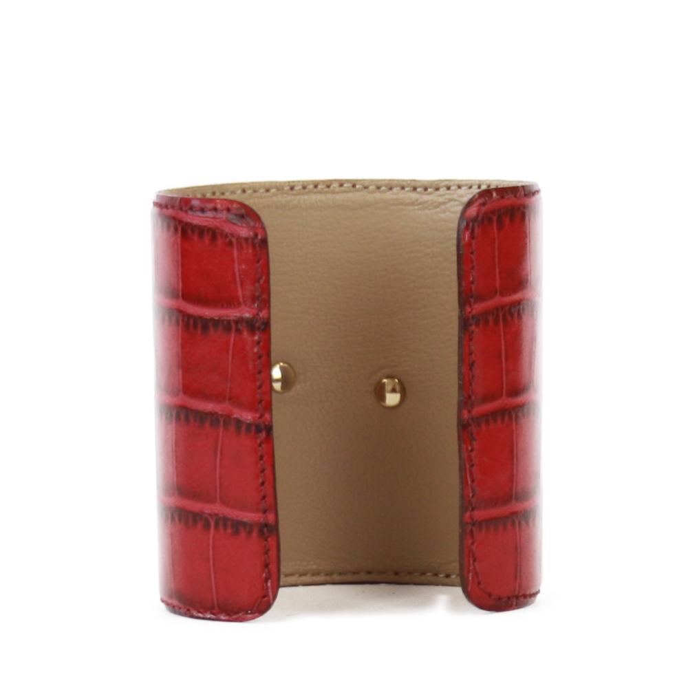 Accessori STELLA JEAN - bracciale rigido con insetto rosso - OneMore (2)