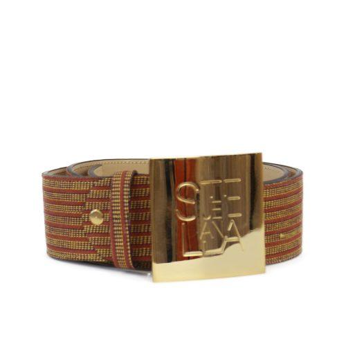 Accessori STELLA JEAN - cintura alta con logo righe rosso