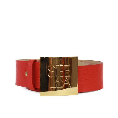 Accessori STELLA JEAN - cintura alta con logo rosso