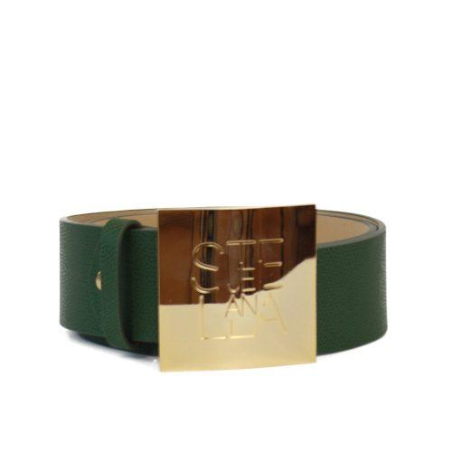 Accessori STELLA JEAN - cintura alta con logo verde