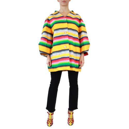 Abbigliamento STELLA JEAN - caban a righe |OneMore (1)