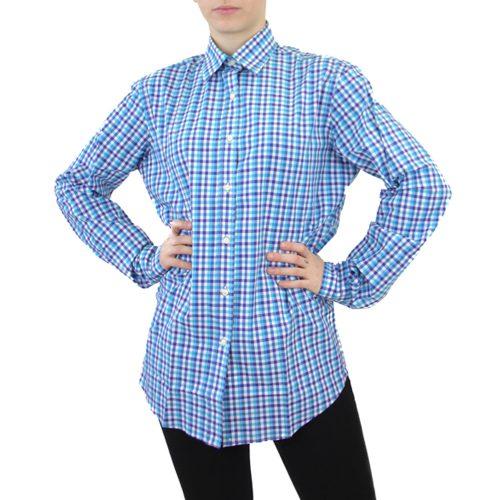 Abbigliamento STELLA JEAN - camicia classica | OneMore quadretti azzurro (1)