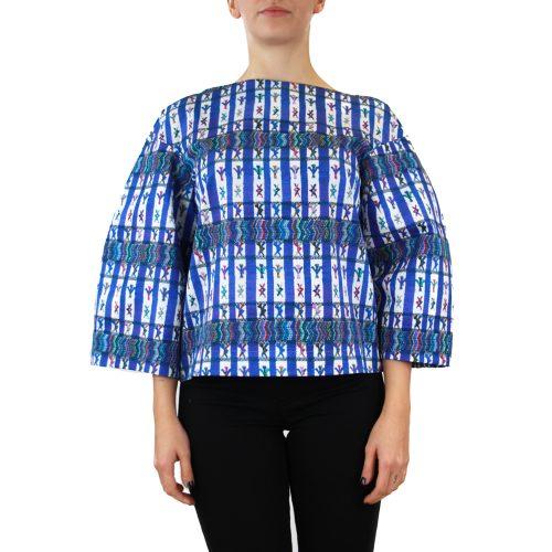 Abbigliamento STELLA JEAN - casacca manica larga |OneMore blu (1)