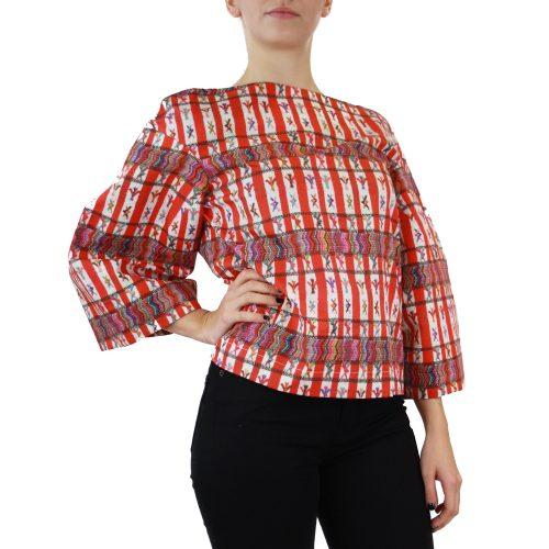 Abbigliamento STELLA JEAN - casacca manica larga |OneMore rosso (2)