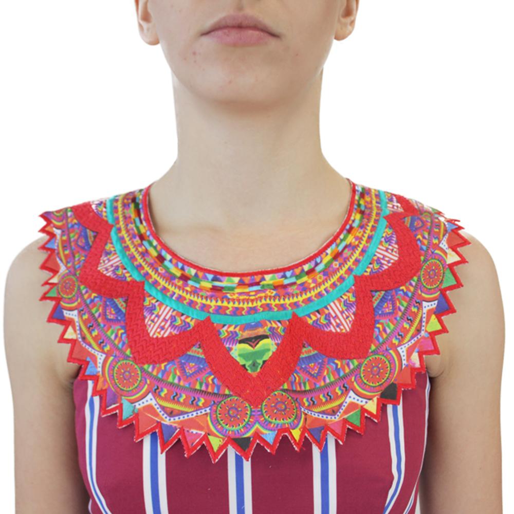 Abbigliamento STELLA JEAN - colletto | OneMore rosso