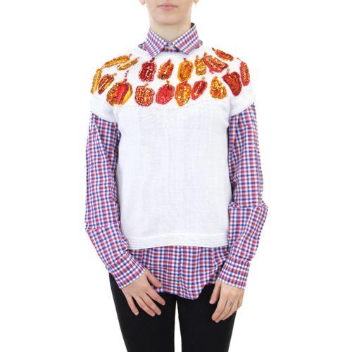 Abbigliamento STELLA JEAN - gilet in maglia | OneMore bianco (1)