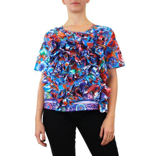 Abbigliamento STELLA JEAN - top a fiori dettaglio rouches |OneMore (1)