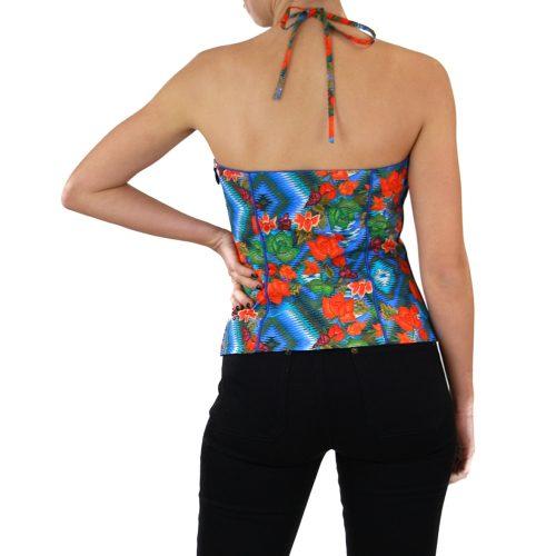 Abbigliamento STELLA JEAN - top bustino| OneMore a fiori (2)