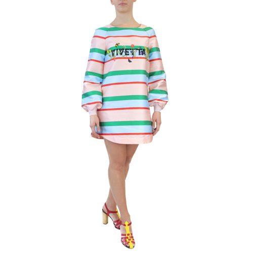 Abbigliamento VIVETTA - abito a righe vivetta | OneMore (2)